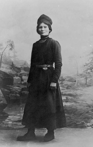 Elsa Laula Renberg (1877-1931) war eine Ikone des samischen Widerstandskampfes.