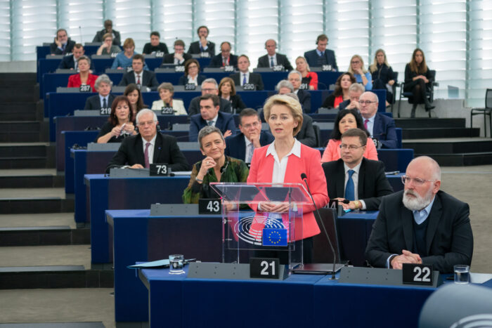 Wahl der EU Kommission im November 2019