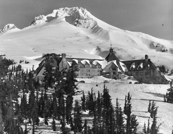 Timberline Lodge, Vorzeigeprojekt der Works Progress Administration der