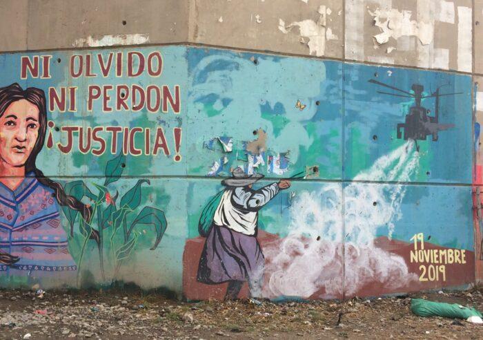 Graffiti in El Alto