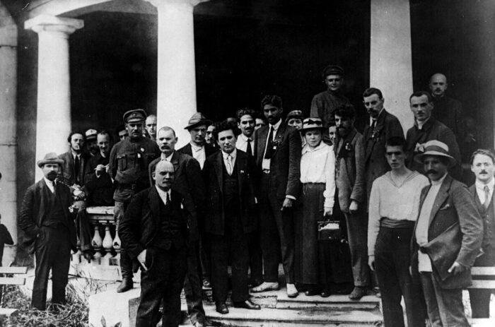 Gruppenfoto der Kommunistischen Internationale